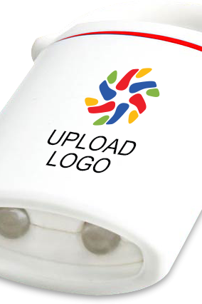 Upload Logo Magnetic auto loop torch E-161