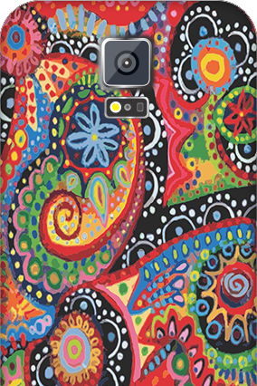 Personalised Samsung Galaxy S5 Colorful Mobile Cover