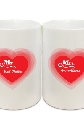 Mr and Mrs Couple Coffee Mug