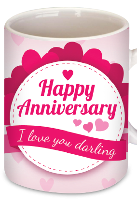 Anniversary Greetings Coffee Mug