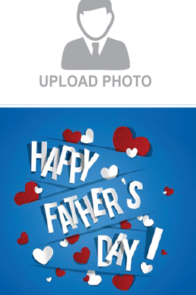 Personalised Cool Father's Day Portrait Canvas Print