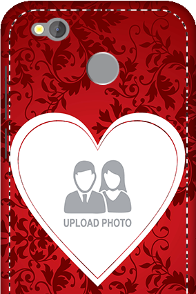 3D -  Redmi 4 Red Color Mobile Cover