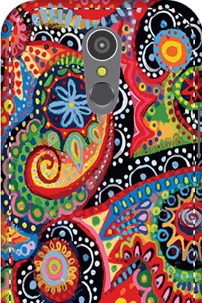 3D - LG K10 (2017) Colorful Mobile Cover