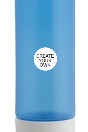 Create Your Own Trendy Water Bottle H73 Blue