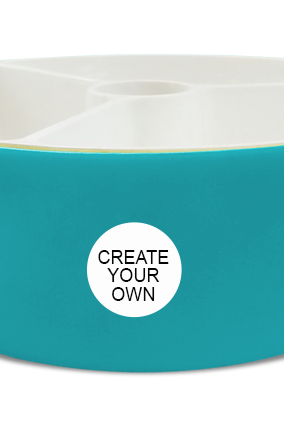 Create Your Own Trio Serving Bowl H79 Blue