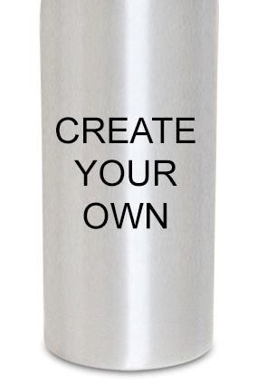 Create Your Own 600ml Silver Sipper