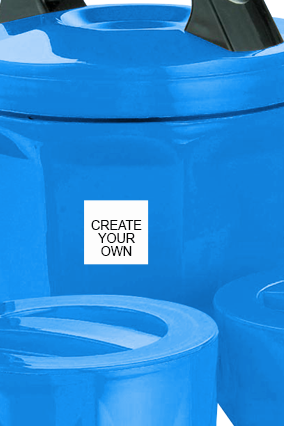 Create Your Own Octomeal Lunch Box H85 Blue