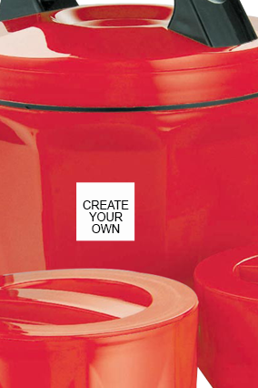 Create Your Own Octomeal Lunch Box H85 Red