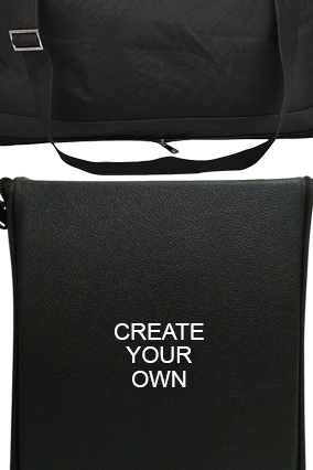 Create Your Own Folding Leatherette travel bag E-131