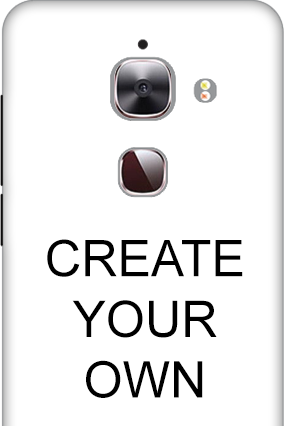 3D - Create Your Own LeEco Le Max 2 Mobile Cover