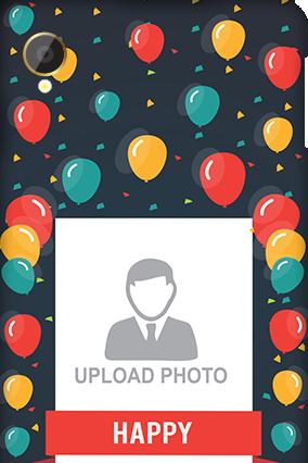 Silicon - Intex Aqua Power Balloons Birthday Mobile Cover
