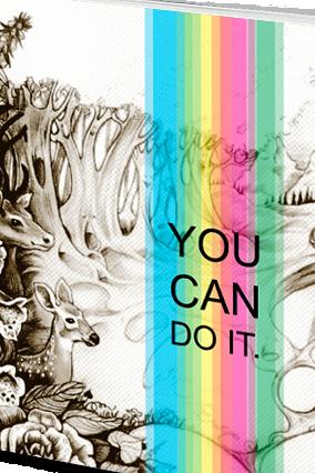 Amazing Effit Do-It Jungle Notebook
