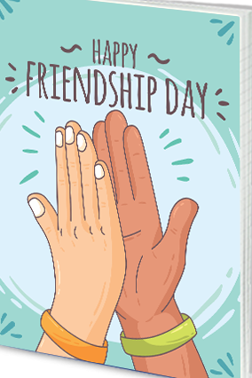 Customized Effit Rejoice Friendship Day Notebook