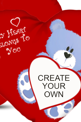 Create Your Own Teddy Bear Cushion Cover