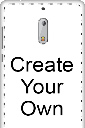 3D - Create Your Own Nokia 6 Mobile Cover