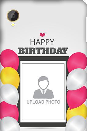 Silicon - Intex Aqua Power Birthday Greetings Mobile Cover