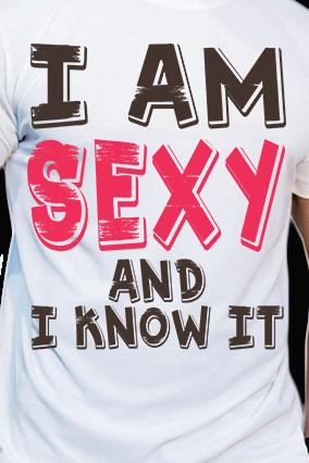 Customized Effit Sexy White Mega Print T-shirt