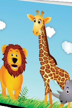 Personalised Effit Junglebook Notebook