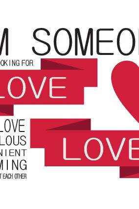 Love Someone Landscape Poster