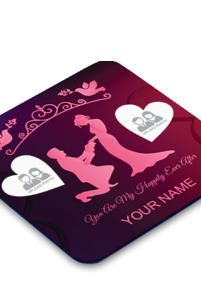 Romantic Square Coaster