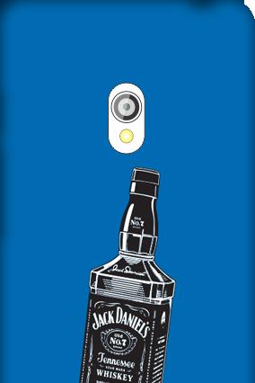 Asus Zenfone 5 Blue Liqueur Cover