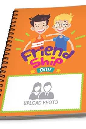 Friend Forever Friendship Day Notebook