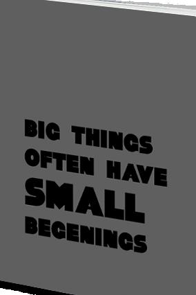 Effit Big Things Notebook