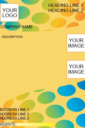 Multiple Color Flyer