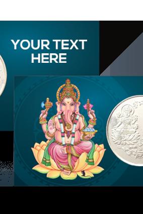 Ganesh Ji Silver Coin