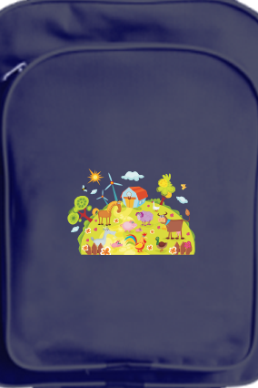 Customized The Children School Bag