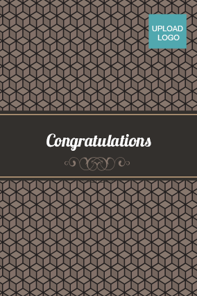 Elegant Congratulations Card