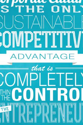 Corporate Culture Poster