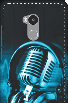 3D - Redmi 4 Prime Headphones Mobile Cover