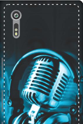 3D - Sony Xperia XZ Headphones Mobile Cover
