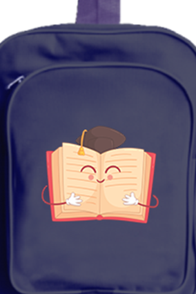 Book Lover School Bag