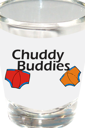 Buddies Shot Glass