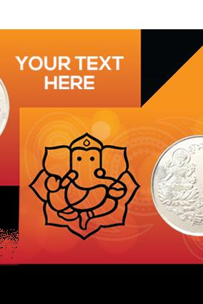 Premium Celebration Silver Coin