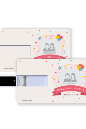Magnetic Anniversary Credit Card Pen Drive