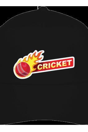 Cricket Ball Black Cap