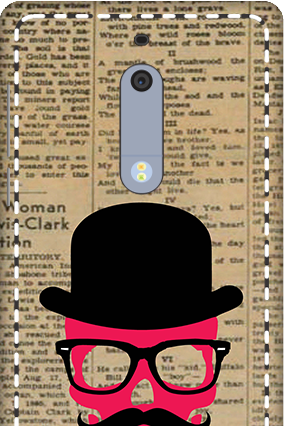 3D - Nokia 5 Hatted Man Mobile Cover