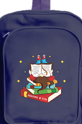 Bookworm School Bag