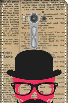 3D - Asus Zenfone 2 Laser ZE550KL Hatted Man Mobile Cover