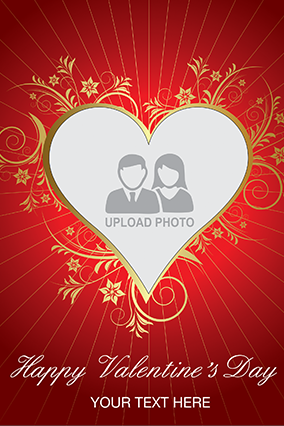 Pure Love Valentine's Day Greeting Card