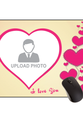 Love Bubbles Valentine Day Rectangular Mouse Pad