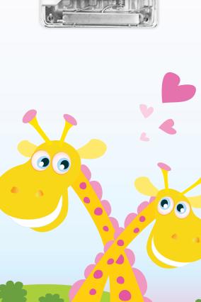 Cute Giraffe Exam Board