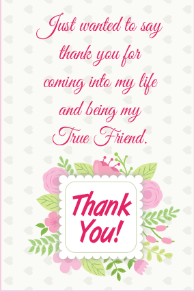 Personalised Lovable Thank You Card