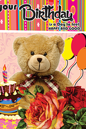 Happy Birthday Greeting Card