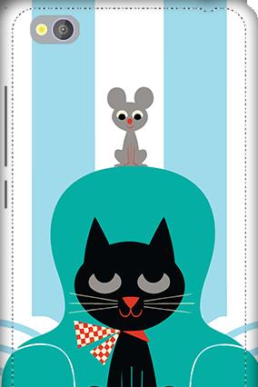 3D - Xiaomi Redmi 4A Cat Mobile Cover