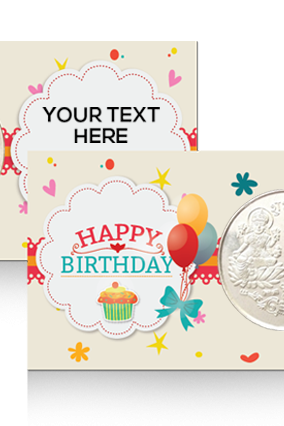 Happy Birthday Silver Coin