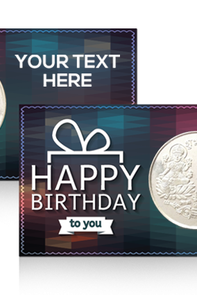 Birthday Greetings Silver Coin